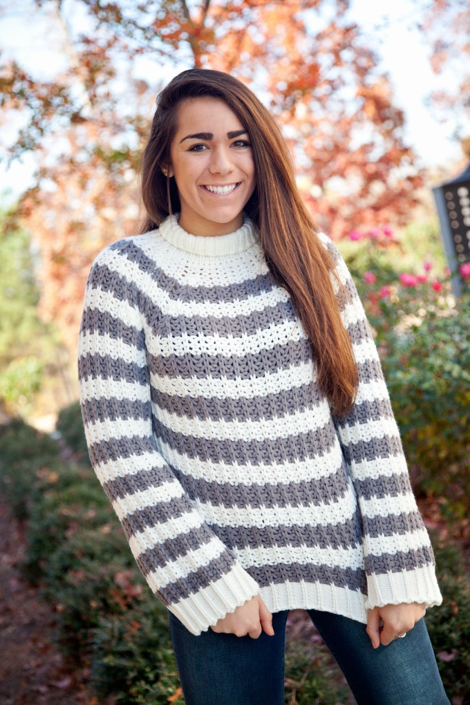 grey_and_ivory_striped_chunky_mock_neck_sweater